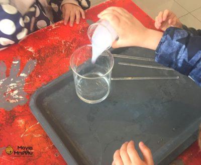 Επίσκεψη νηπιαγωγείου-προνηπίου στο μουσείο πειραμάτων στη Καισαριανή