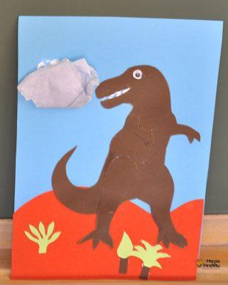 Χειροτεχνία για τους δεινόσαυρους Μάγια Μπίλλυ